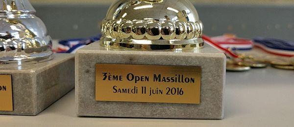 3ème Open Massillon : photos et résultats