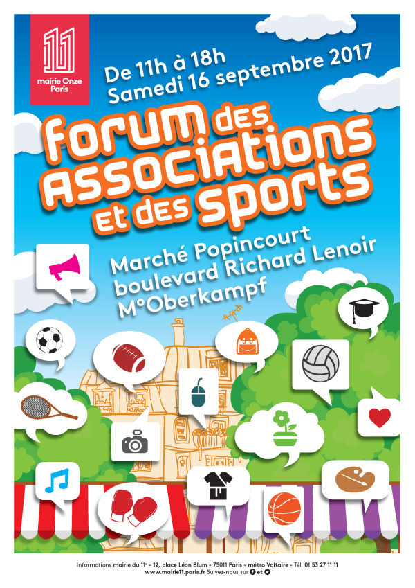 Forum des Associations et des Sports du 11ème arrondissement