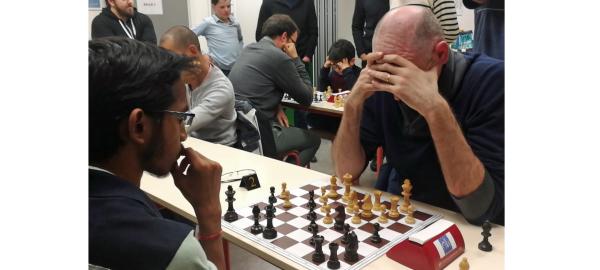 13ème Rapide M Échecs : victoire d'Alexis Lograda !