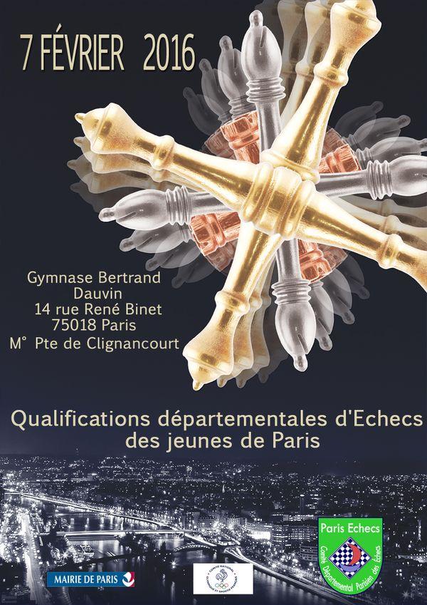 Qualifs Paris Championnat de France Jeunes : inscriptions ouvertes !