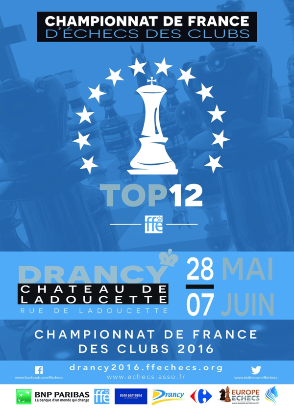 Le Top 12 à Drancy