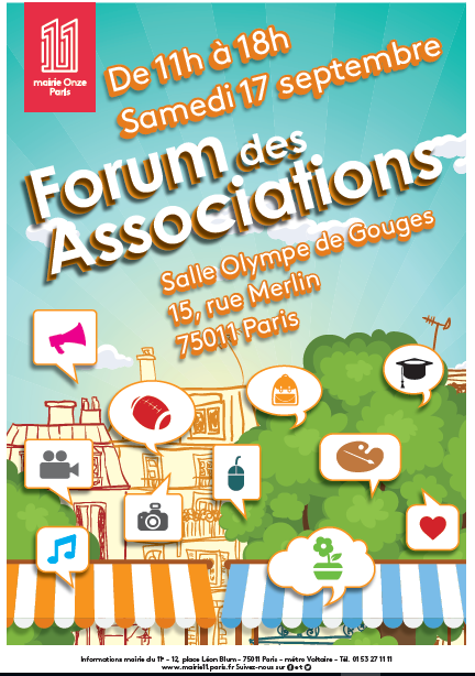 Forum des Associations du 11ème arrondissement