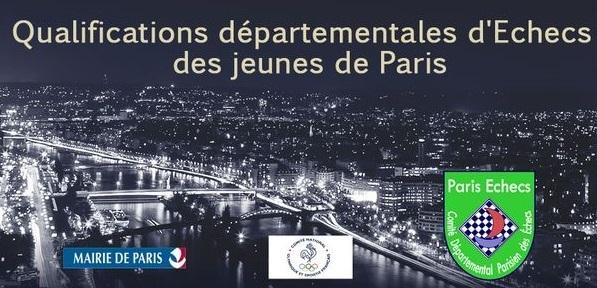 Qualifications départementales (Paris) - Championnat de France Jeunes