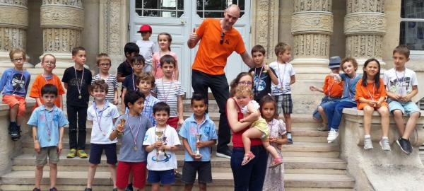 Octave Fontaine (M Échecs) remporte le 2è tournoi spécial Petits-Poussins !