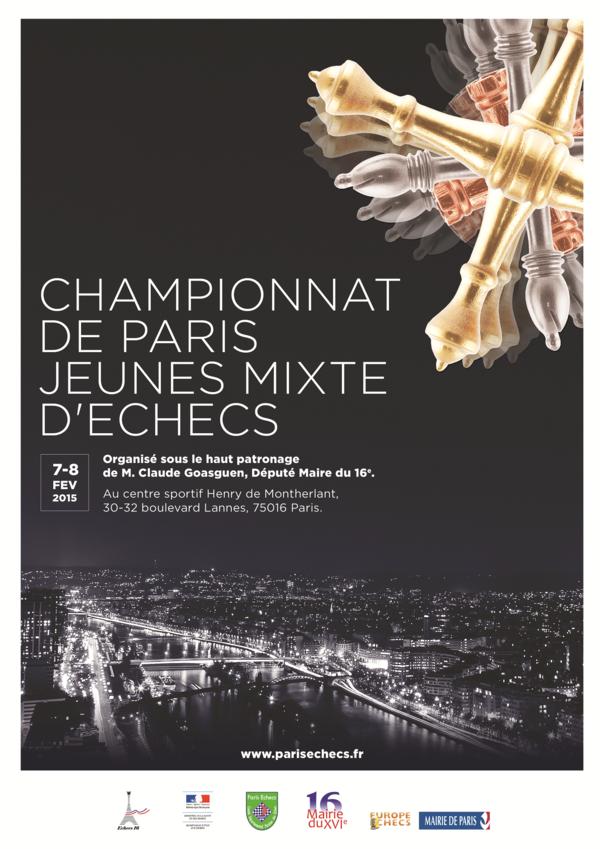 Championnat de Paris Jeunes mixte d'Échecs (Poussins et Pupilles)