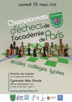 Championnats académiques 2014-2015