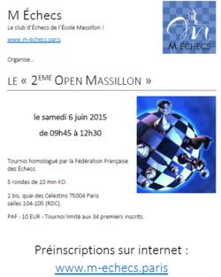 2ème Open Massillon