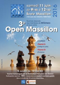 3ème Open Massillon