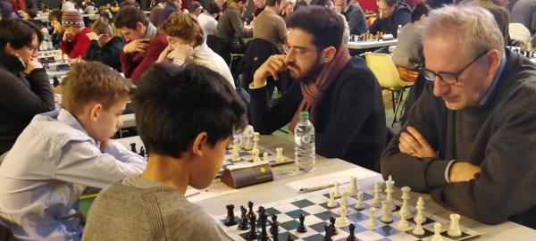 Championnat de Paris Amateurs (-2200) : des résultats encourageants