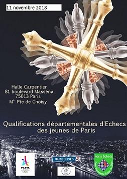Qualifications parisiennes pour le Championnat de France Jeunes 2019