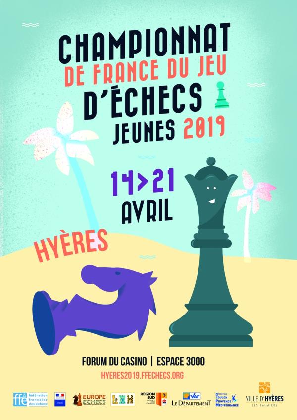 Trois élèves de M Échecs se qualifient pour les Championnats de France Jeunes 2019 !
