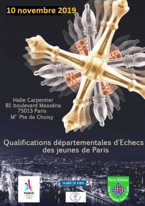 Qualifications parisiennes pour le Championnat de France Jeunes 2020