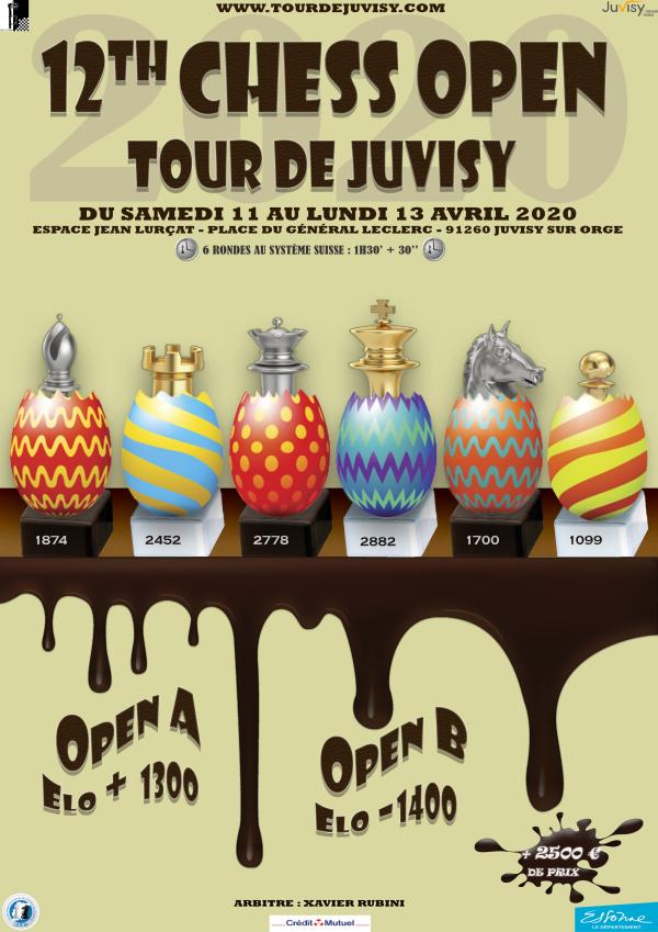 Douzième édition Open de Pâques de Juvisy