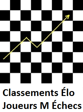 Classements joueurs M Échecs